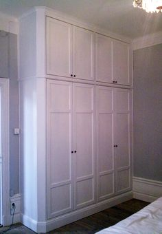 You searched for garderober - Norrort Snickeri Closet Designs, Tall Cabinet Storage, Locker Storage, Home Design Decor, City Decor, Bedroom Storage, Bedroom Organization Storage, Home Bedroom, Closet Bedroom
