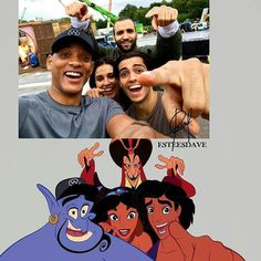 #Repost @disneywordmylove (@get_repost) ・・・ Meet the cast of live-action #Aladdin, directed by @guyritchie: Will Smith as Genie, @menamassey as Aladdin, @naomigscott as Jasmine, and Marwan Kenzari as Jafar. (��: Will Smith) Credit ��@ESTEESDAVE�� #waltdisney #disney #fanart #aladdin #willsmith #princessdisney #liveaction #disneyshare #jasmine #jafar #genio #alladin #aladin #aladino #princessjasmine #disneyliveaction #disneyselfie #selfie #disneyart #disneyfanart #disneynerd #disneycharacter…