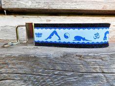 Schlüsselanhänger  Yoga von Patchwork auf DaWanda.com