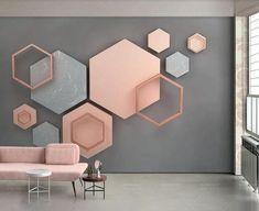 Wall Painting Living Room, Living Room Paint, Living Room Bedroom, Interior Design Books, Interior Design Gallery, Wall Wallpaper, Custom Wallpaper, Photo Wallpaper, Kids Wallpaper