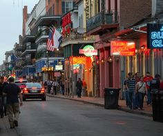 Bourbon Street - New Orleans, Louisiana