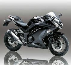 Kawasaki Ninja 250 New Black. Might get one of these soon too.