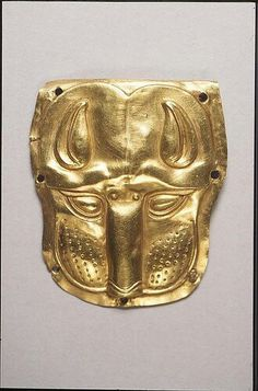 Gold Scythian panther head - Penn Museum