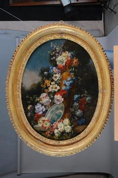 peinture sur contreplaqu bouquet de fleurs 27cm x 21 5cm for sale eur 5 00 see photos. Black Bedroom Furniture Sets. Home Design Ideas