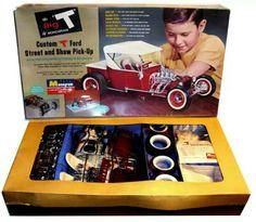 Monogram Big T Car Model.