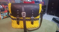 Crochet Bag with star stitch Star Stitch, Handmade Bags, Messenger Bag, Satchel, Stars, Crochet, Handmade Handbags, Sterne, Ganchillo