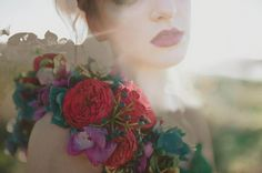 Over the shoulder floral couture Blush-photography-let-them-eat-cake-97