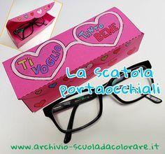 La scatola porta-occhiali