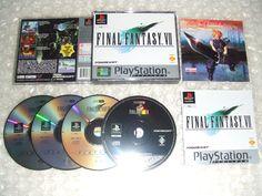 FINAL FANTASY VII FF7 FFVII - PS1 ps2 ps3 playstation - PAL + guida strategica