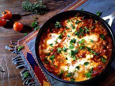 Israeli Breakfast Skillet (Shakshuka)