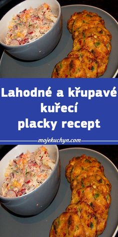 Lahodné a křupavé kuřecí placky recept Grains, Food And Drink, Cooking, Recipes, Kitchen, Recipies, Ripped Recipes, Seeds, Recipe