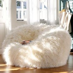 Fur Bean Bag