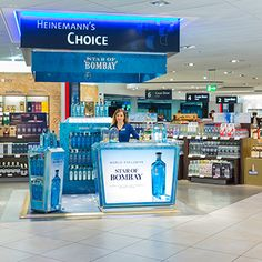 Bombay Sapphire has launched new travel retail activations in Sydney, Frankfurt and Copenhagen to promote its new super-premium brand extension, Star of Bombay.