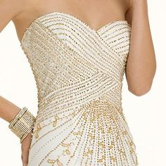 Beaded Trumpet Skirt Prom Dress from Camille La Vie and Group USA