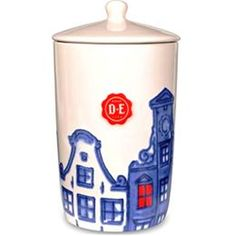 Bewaarpot Hollands Trots - Douwe Egberts... OMG!!!! Would love this to go with my mugs!!!!!