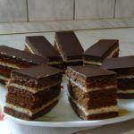 Mézes krémes Eat Pray Love, Cake Bars, Sweet Desserts, Nutella, Tiramisu, Candy, Chocolate, Cooking, Ethnic Recipes