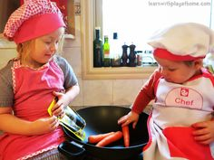 Learn with Play at Home: 5 Tips for Helping Children Develop a Healthy Relationship with Food + Chinese Five Spice & Soy Beef Noodle Stirfry...