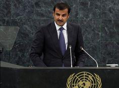 Emir (Islamitische titel voor prins of leider) Tamim bin Hamad al-Thani van Qatar. (juni 2013 - heden)