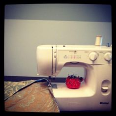 Every girl should know how to use her sewing machine