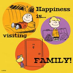 Happiness is visiting family!