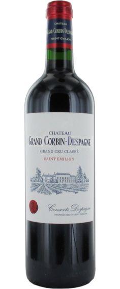 Château Grand Corbin-Despagne 2010  - Grand Cru Classé de Saint-Emilion - 16/20 : Souple et rond, belle matière, de la chair, des tannins, beau fond.  En savoir plus : http://avis-vin.lefigaro.fr/vins-champagne/bordeaux/rive-droite/saint-emilion-grand-cru/d15325-chateau-grand-corbin-despagne/v15326-chateau-grand-corbin-despagne/vin-rouge/2010#ixzz3GCmkZ0mc