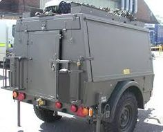 Image result for military trailers Dog Trailer, Off Road Camper Trailer, Trailer Plans, Trailer Build, Utility Trailer, Camper Trailers, Expedition Trailer, Overland Trailer, Cargo Trailers