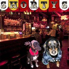 Shorty's in Belltown is dog-friendly http://doggoneseattle.com/shortys-a-dog-friendly-dive-bar-arcade-in-belltown/