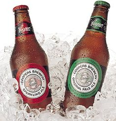 Coopers beer • Adelaide's icons Sparkling Ale and Original Pale Ale #beer #local #craftbeer #brewig