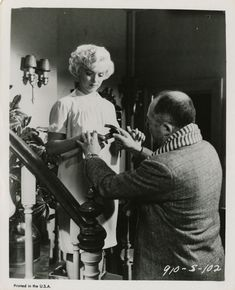 Sur le tournage de The Seven Year Itch 13 - Divine Marilyn Monroe