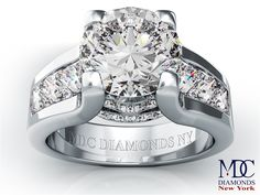 Modern Engagement Rings | Engagement Ring - Modern Round Diamond Engagement ring princess ...