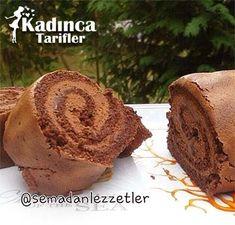 Çikolatalı İsveç Rulosu Tarifi Kadincatarifler.com - En Pratik, Lezzetli ve Nefis Yemek Tarifleri Sitesi