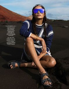 """Luxury Sports"" Tayane Leao Melo for Madame Figaro France February 2016"