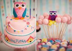 homemade owl baby shower decorations - Google Search