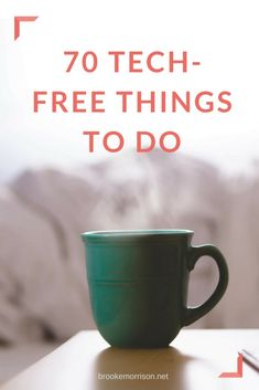 Here are over 70 tech-free ideas for activities you can do when you're bored that don't involve technology. Plus, a printable version of the tech-free things to do list. Things To Do When Bored, Free Things To Do, Digital Detox, List Of Activities, Healthy Lifestyle Tips, Time Management Tips, Self Improvement Tips, Alternative Health, Mom Quotes