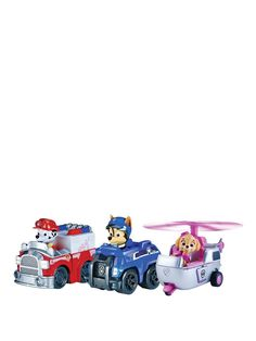 Racers Team Pack - Spy Chase, Rescue Marshall and Skye, http://www.very.co.uk/paw-patrol-racers-team-pack-spy-chase-rescue-marshall-and-skye/1600003471.prd
