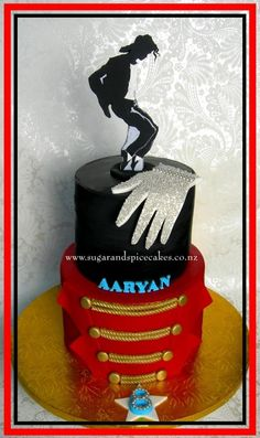Michael Jackson - King of Pop - Cake by Mel_SugarandSpiceCakes