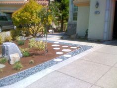 Modern Front Yard Garden Ideas 15 awesome garden design with stones and rocks | stone, rock and