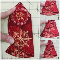 A lovely, easy-to-make tree ornament
