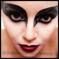 Makeup Cisne Negro