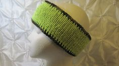 Items similar to Knitted Reversible Neon Lemon , Camo and Reflective Headband on Etsy Neon Yellow, Free Knitting, Yarns, Camo, Safety, Etsy, Camouflage, Security Guard