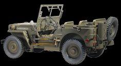 Dragon Military Models 1/6 US 1/4-Ton 4x4 Willys Jeep Kit