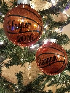 Personalized basketball glitter ornament #basketballornament #custom #personalized #glitterornament #basketballchristmas #etsyshop #promotion #shopsmallbusiness