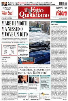 Il Fatto Quotidiano (04-10-13) Italian | True PDF | 24 pages | 8,64 Mb