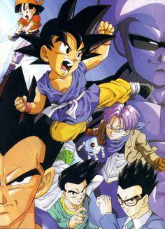 Goku and friends DBGT