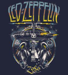 Reverbcity Shop - Camisetas/T-shirts Led Zeppelin - Masc