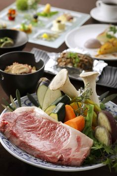 Japanese Cuisine: Wagyu Beef Teppanyaki|鉄板焼き