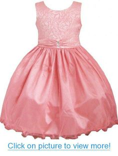 Girls Dress Coral Multi-layers Diamond Pageant Wedding Kids Boutique Size 2-12