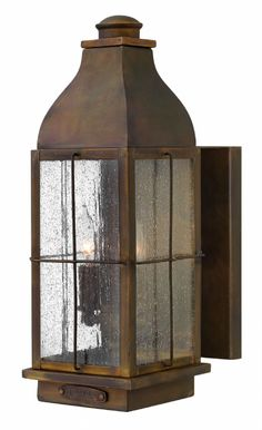 Hinkley Lighting carries many Sienna Bingham Lanterns light fixtures that can be used to enhance the appearance and lighting of any home.