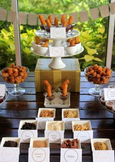the yummiest churro station (the perfect addition to any party or shower!)