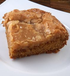 Gooey Pumpkin butter cake - pumpkin dessert recipe